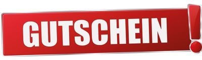 Onlineshop Gutschein Button
